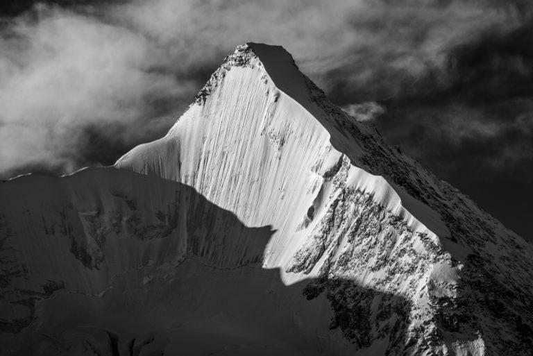 Face nord Ober Gabelhorn - Crans-Montana image montagne