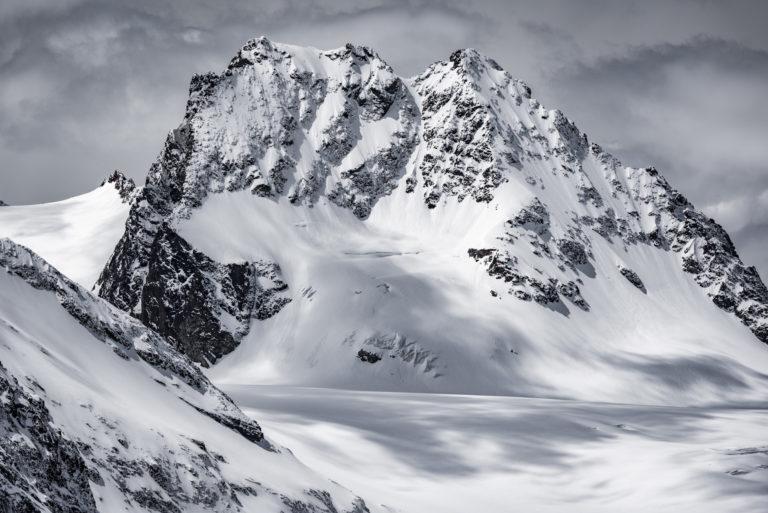 Val d'hérens - Alpes suisses Petit Mont Collon