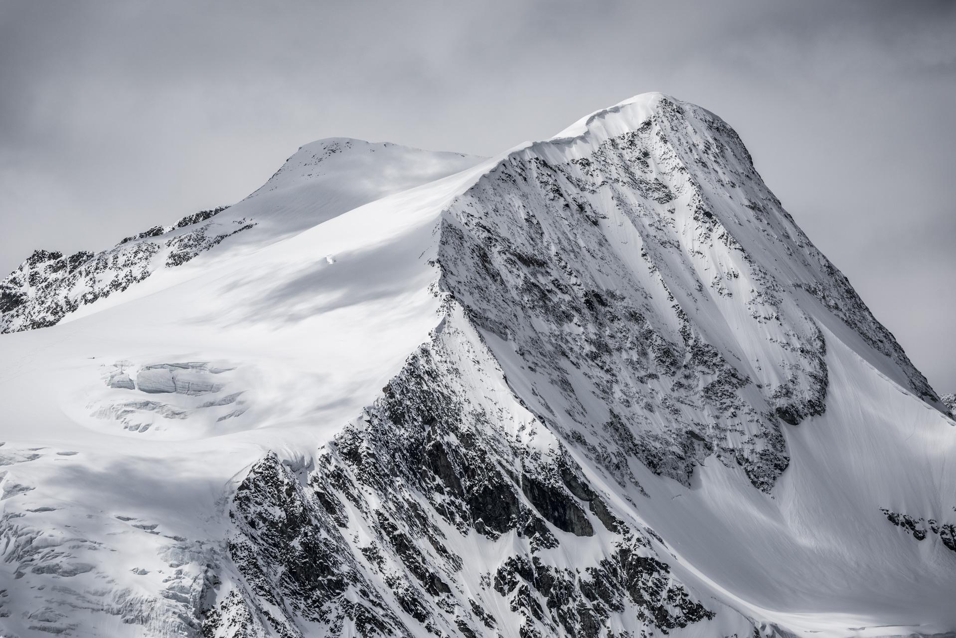 Val d'hérens - montagne photo Pigne d'Arolla