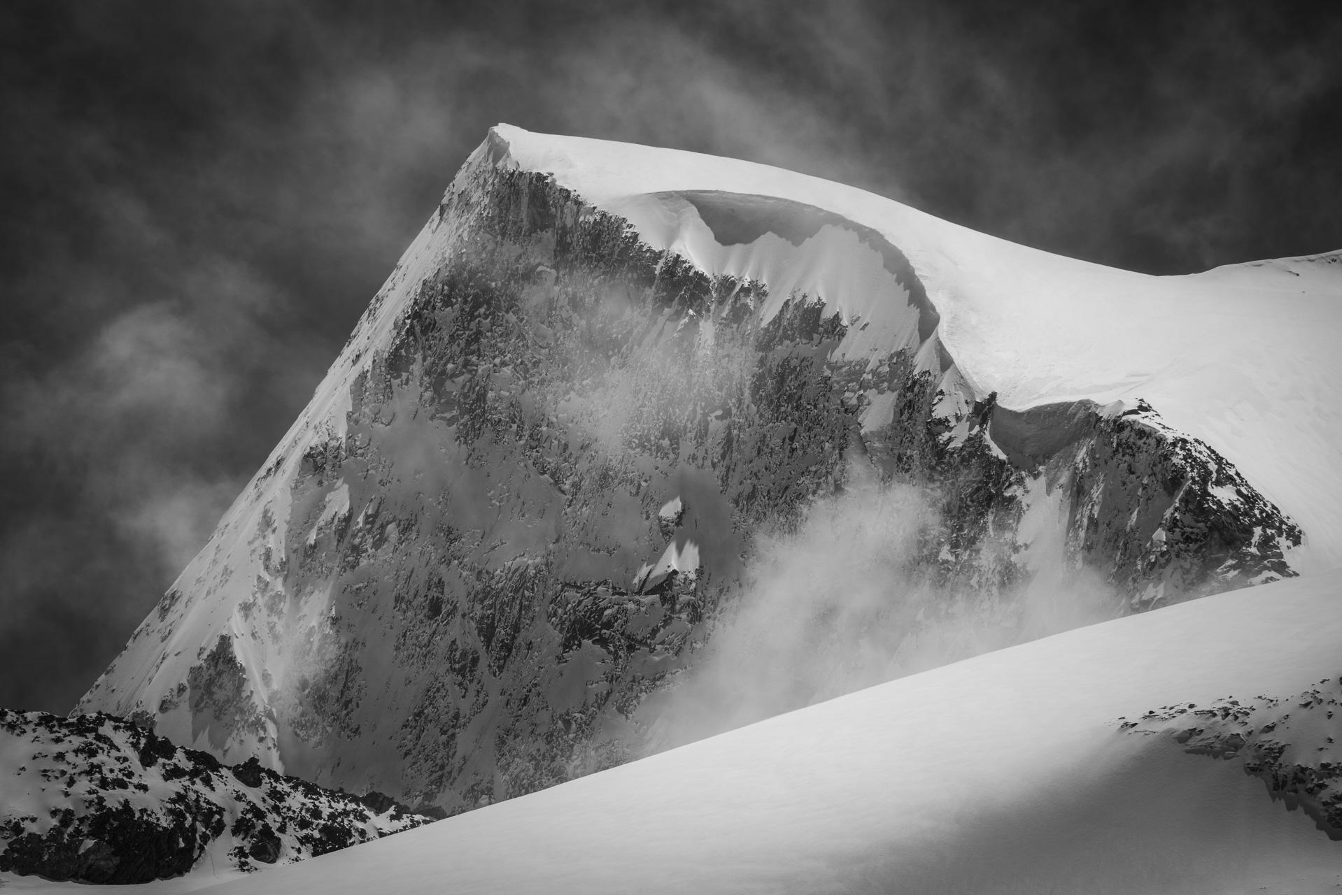 Val d'hérens - photo paysage de montagne Pigne d'Arolla