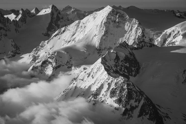Val d'hérens - image montagne Alpes Pigne d'Arolla, Evèque