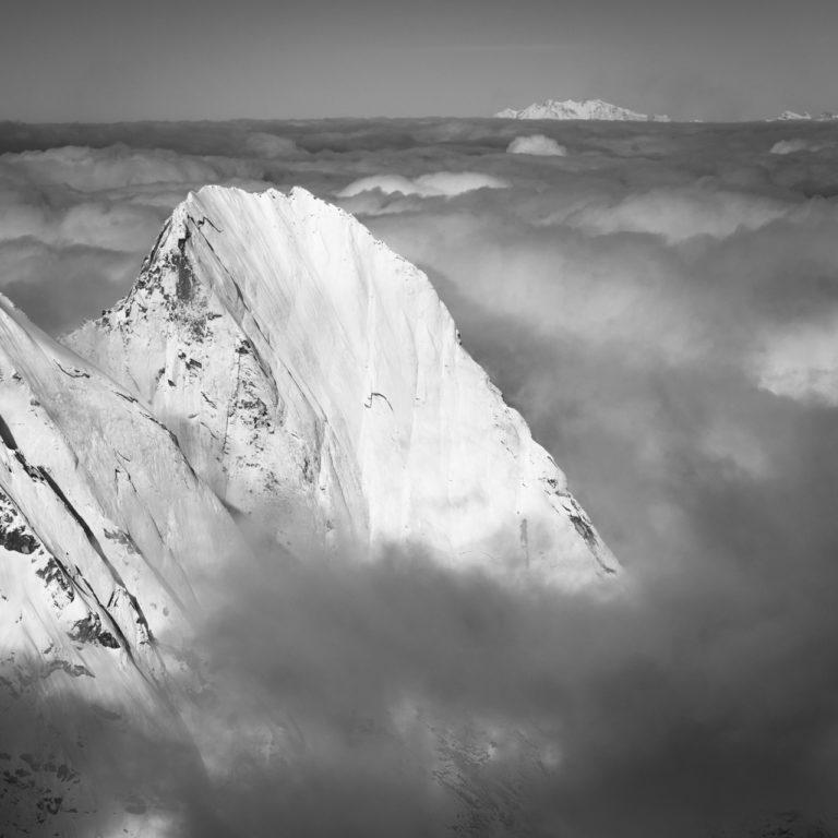 matterhorn photos - Piz Badile - Mont Rose - Engadine Grisons en Suisse