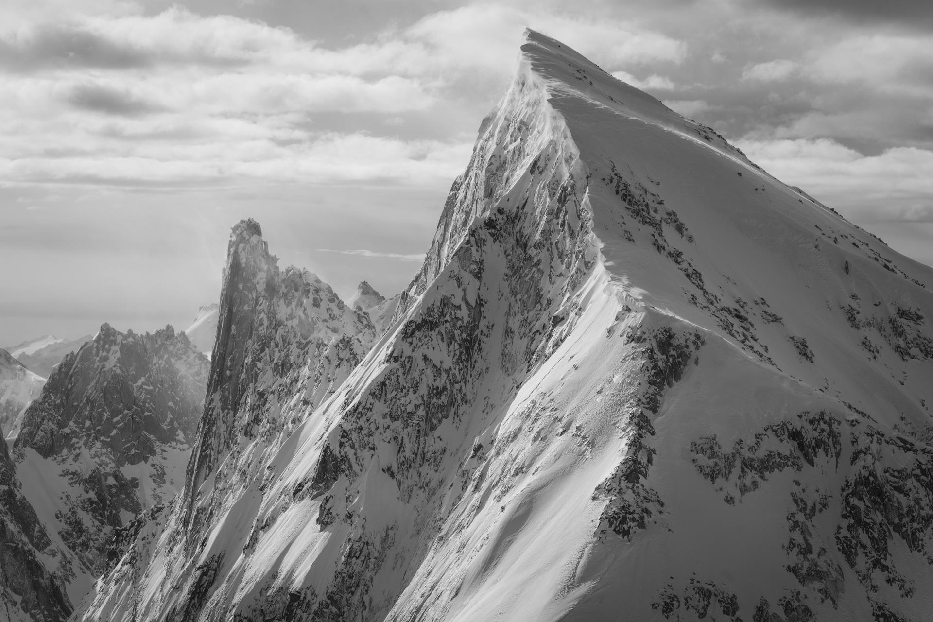 Image Pizzo Cengalo - Vallée de l'Engadine Alpes Suisses