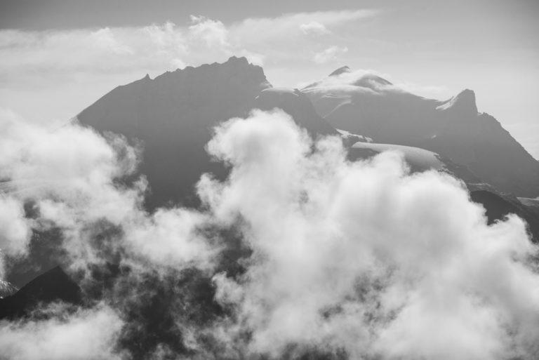 Vallée de Zermatt - Valais Suisse - Rimpfischhorn - Strahlhorn - Adlerhorn