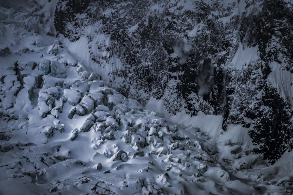 Glaciers des alpes - Schwarztor à Zermatt