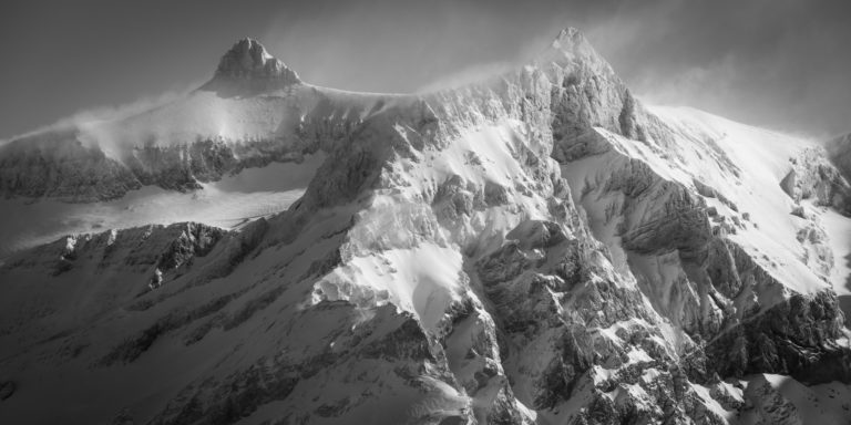 Sommet des Diablerets - Paysage panoramique montagne