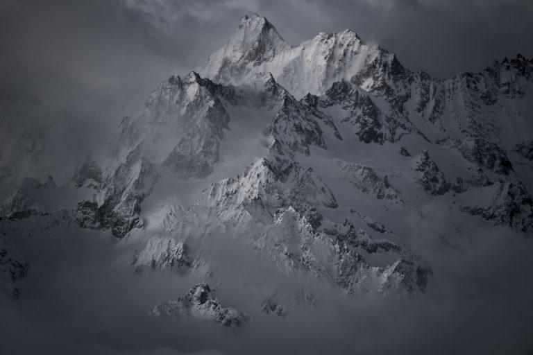 Val de Bagne - photo paysage de montagne Tour Noir - Aiguille de l'A Neuve