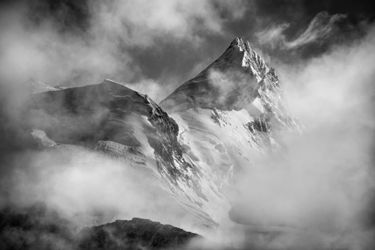 Weisshorn - montagne photo Crans Montana- Val d'Anniviers Crans Montana