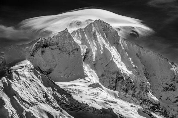 Photo montagne Weisshorn vu de Grimmentz