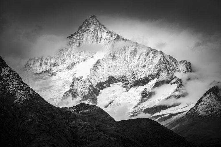 Photo montagne Weisshorn Zermatt