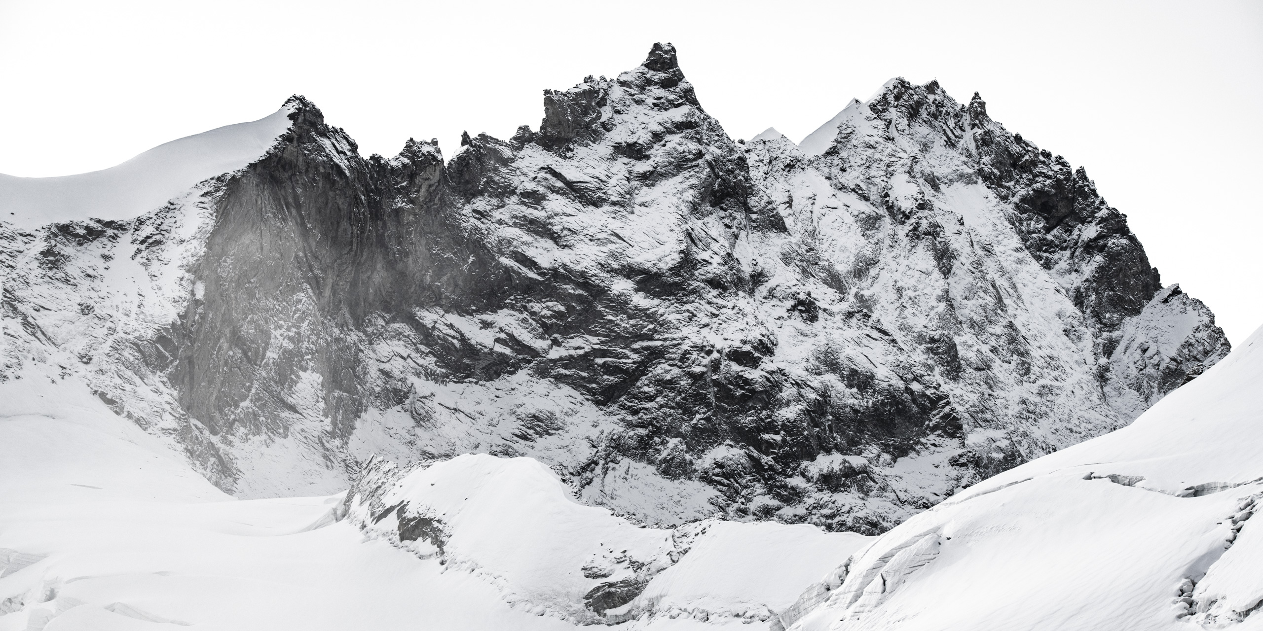 photo weisshorn montagne neige