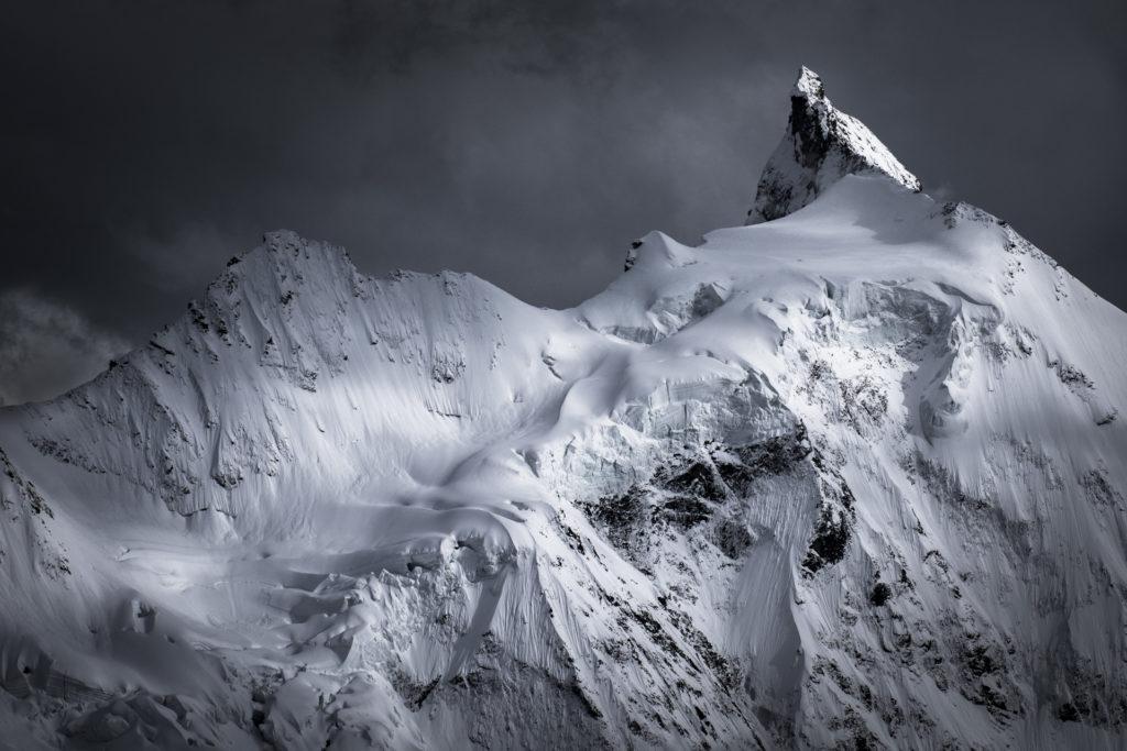 Zinalrothorn - val d'anniviers - Photo montagne alpes suisses
