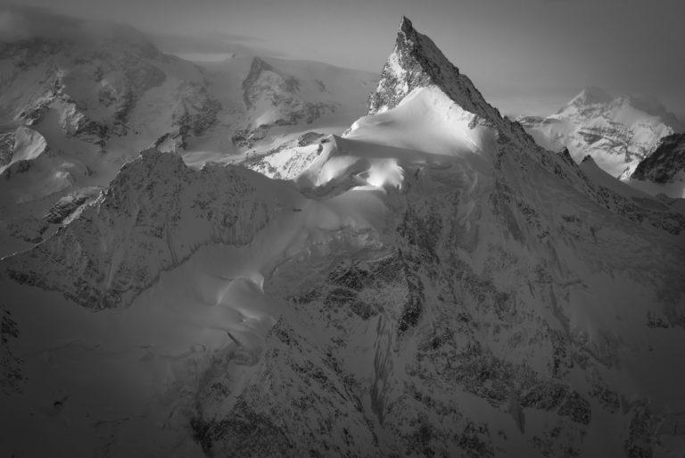 Zinalrothorn - Tableau photo montagne
