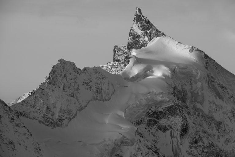 Zinalrothorn - Photo montagne suisse - Vue Val d'Anniviers