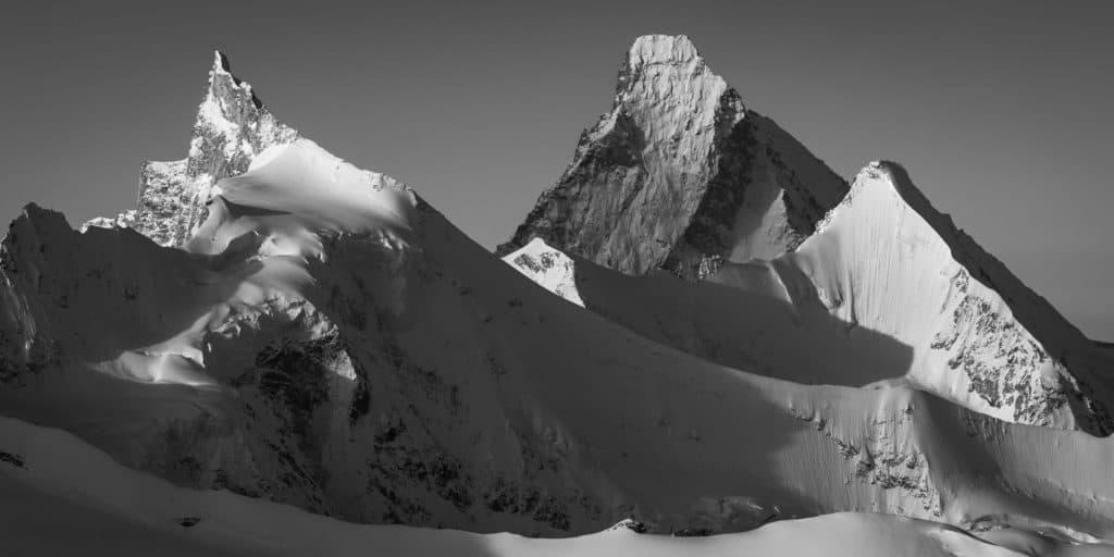 photo de montagne - photo alpes - image de montagne - photo art montagne - Massif des alpes suisses Val d'Anniviers