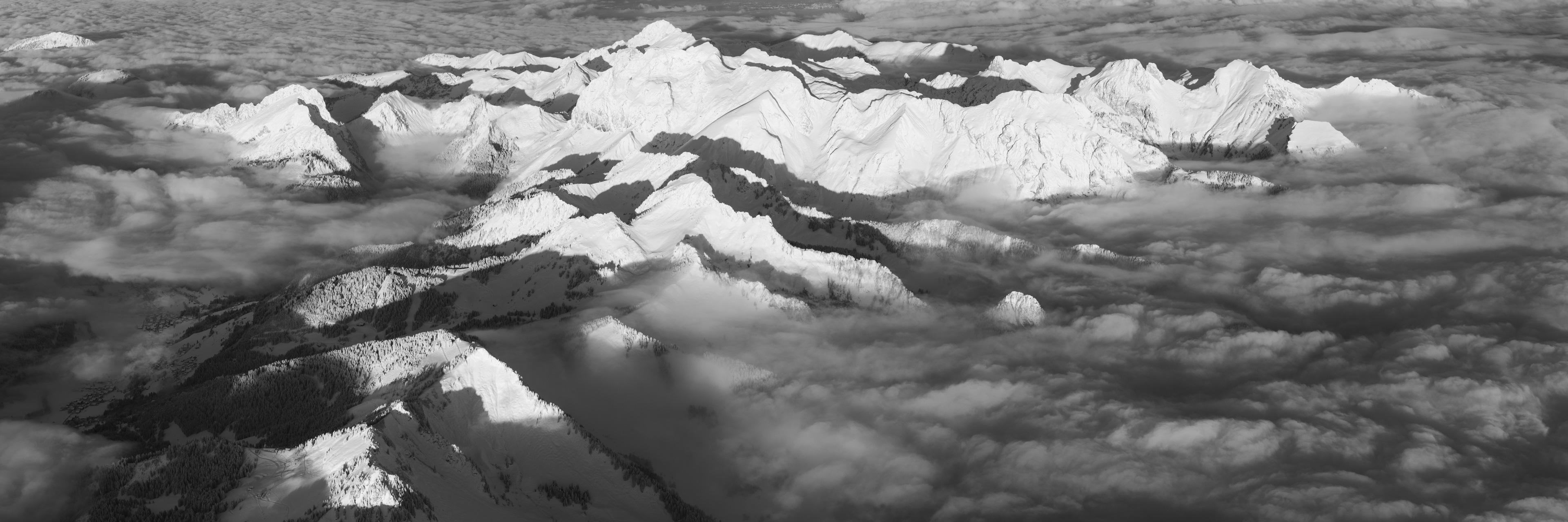 Photo panoramique des Cornettes de Bise