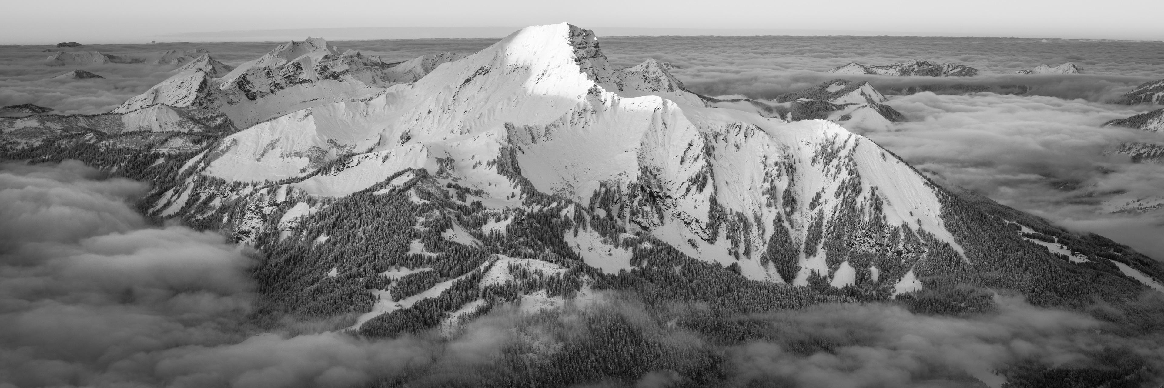 Photo panoramique du Mont de Grange - Photo de montagne Châtel