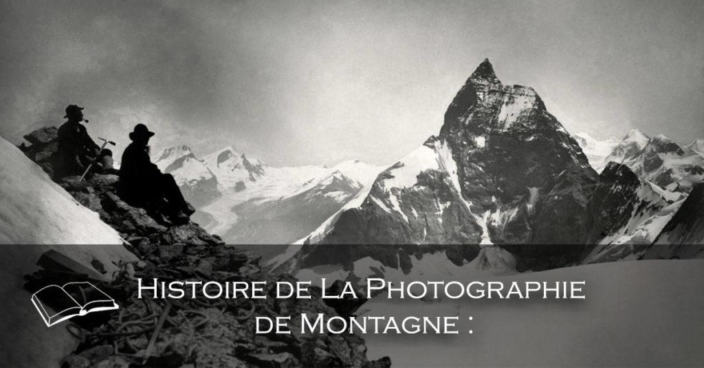 Banière - Histoire de la photographie de Montagne