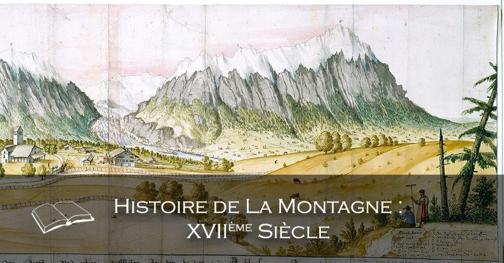 Bannière - Histoire de la montagne XVIIe Siècle