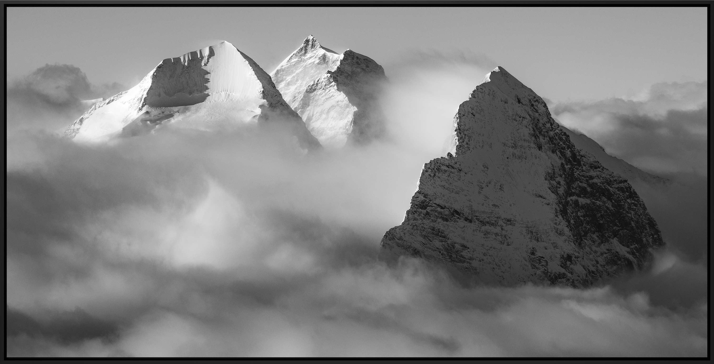 photo grindelwald - photos grindelwald suisse - photo eiger - photo jungfrau - panoramique eiger monch jungfrau - cadre photo montagne
